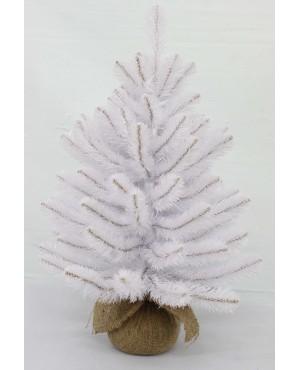 Искусственная елка Triumph Tree Атлантическая 45 см в мешочке белая