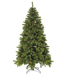 Искусственная елка Triumph Tree Императрица с шишками 215 см зеленая...
