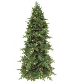 Триумф сосна Изумрудная с огоньками Triumph Tree 155 см...