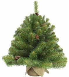 Искусственная елка Triumph Tree Императрица с шишками 90 см в мешочке...