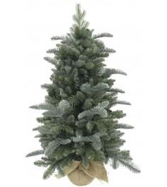 Искусственная елка Triumph Tree Нормандия в мешочке 90 см голубая...