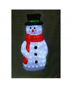 Фигура из акрила Peneri Снеговик 60 см 120 ламп