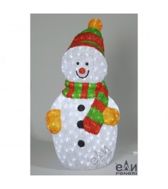 Фигура из акрила Peneri Снеговик 90 см 450 ламп
