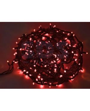 Новогодняя гирлянда Neon-night Твинкл Лайт влагостойкая красная 20м 240 диодов 303-322