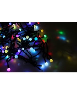Новогодняя гирлянда Neon-night LED - шарики, МУЛЬТИ, 10 метров 303-509-2