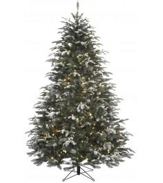 Искусственная елка Black Box Стильная согоньками 230 см заснеженная...