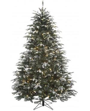 Искусственная елка Black Box Стильная согоньками 230 см заснеженная