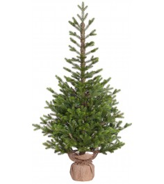 Искусственная елка Black Box Прованс в мешочке 155 см зеленая