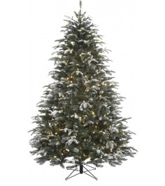 Искусственная елка Black Box Стильная согоньками 185 см заснеженная...
