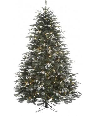 Искусственная елка Black Box Стильная согоньками 185 см заснеженная