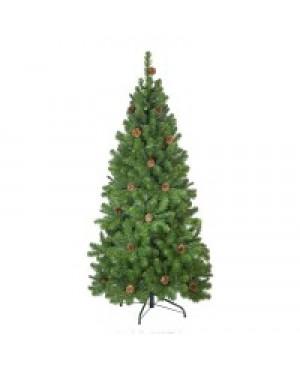 Ель искусственная Crystal Trees Триумфальная с шишками 150 см