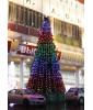 Светодинамическая ель Царь Ёлка Макс Лайт 15,5 м 3136 пикселей ПВХ