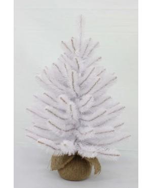 Искусственная елка Триумф Атлантическая 60 см в мешочке белая
