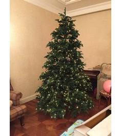 Искусственная елка Триумф Нормандия 120 см с лампами зеленая...