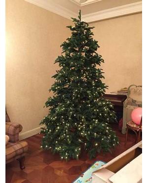 Искусственная елка Триумф Нормандия 120 см с лампами зеленая