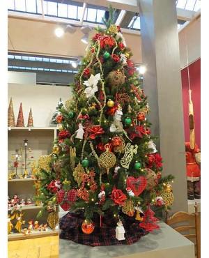 Искусственная елка Триумф Лесная красавица 365 см 1088 ламп зеленая