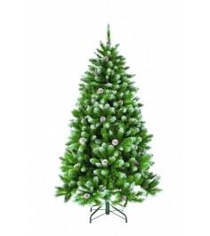 Искусственная елка Триумф Императрица с шишками 260 см заснеженная...
