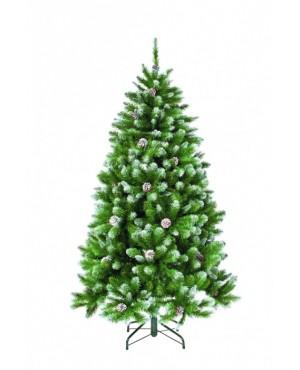 Искусственная елка Триумф Императрица с шишками 260 см заснеженная