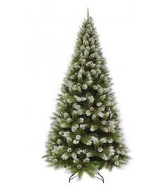 Искусственная елка Триумф Женева 230 см с шишками заснеженная...
