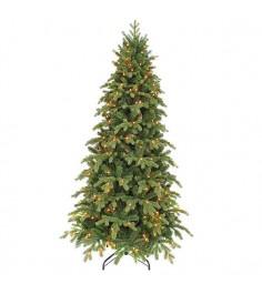 Искусственная елка Триумф Шервуд премиум стройная 260см 360 ламп зеленая