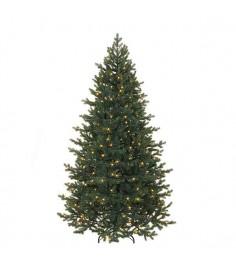 Искусственная елка Триумф Шервуд премиум 230 см 336 ламп FULL PE зеленая...