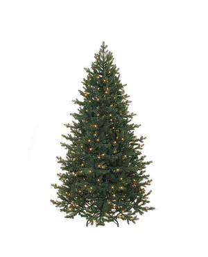 Искусственная елка Триумф Шервуд премиум 230 см 336 ламп FULL PE зеленая