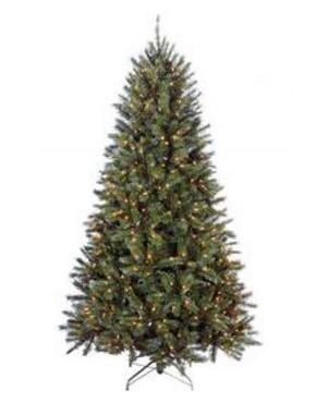 Искусственная елка Триумф Женева 185 см 152 лампы заснеженная