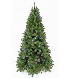Искусственная елка Триумф Санкт-петербург 185см 184 лампы зелёная...