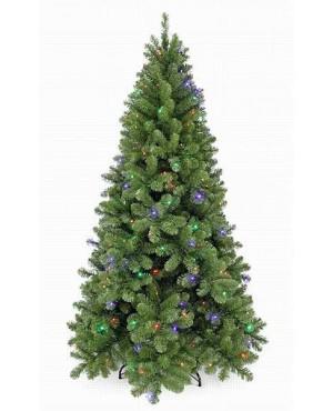 Искусственная елка Триумф Санкт-петербург 185см 184 лампы зелёная