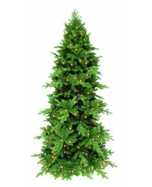 Искусственная елка Триумф Изумрудная 230 см 256 ламп зеленая