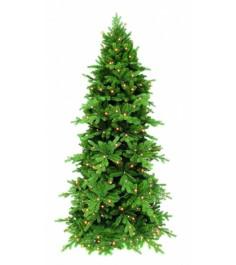Искусственная елка Триумф Изумрудная 260 см 344 лампы зеленая