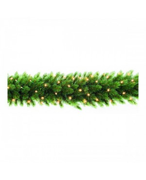 Триумф декор гирлянда Лесная красавица 270x33 см 96 лампы зеленая