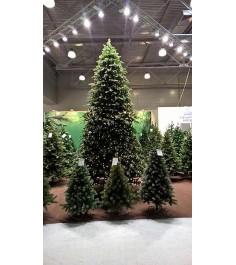 Искусственная елка Триумф Шервуд премиум 120см 88 ламп зеленая...