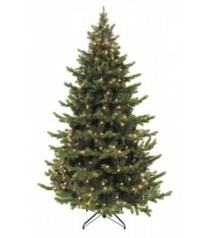 Искусственная елка Триумф Шервуд премиум 305 см 864 лампы зеленая