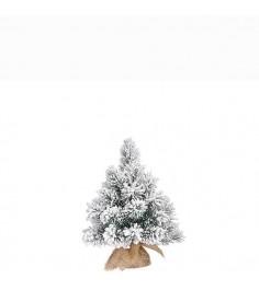 Ель Метелица 60 см заснеженная в мешочке