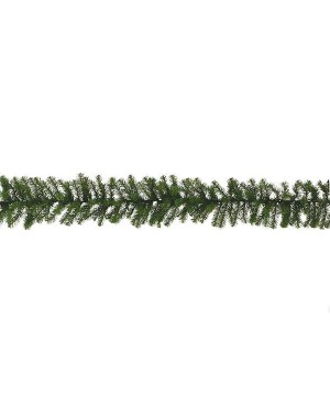 Новогодняя гирлянда декор Triumph Колорадо 270x30 см зеленая