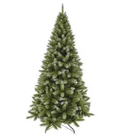 Искусственная елка Triumph Tree Женева с шишками 215 см заснеженная