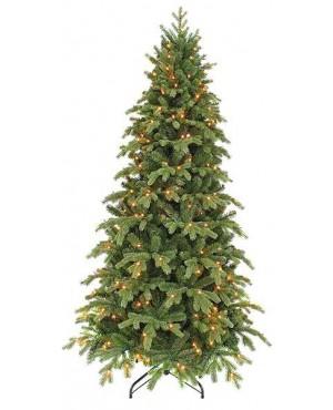 Искусственная елка Triumph Tree Шервуд Премиум стройная с огоньками 215 см зеленая
